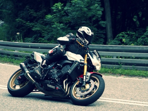unterwegs mit Yamaha FZ8