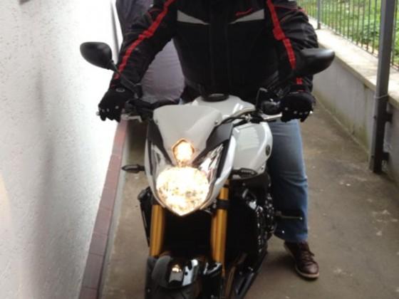 Ich mit altem Helm
